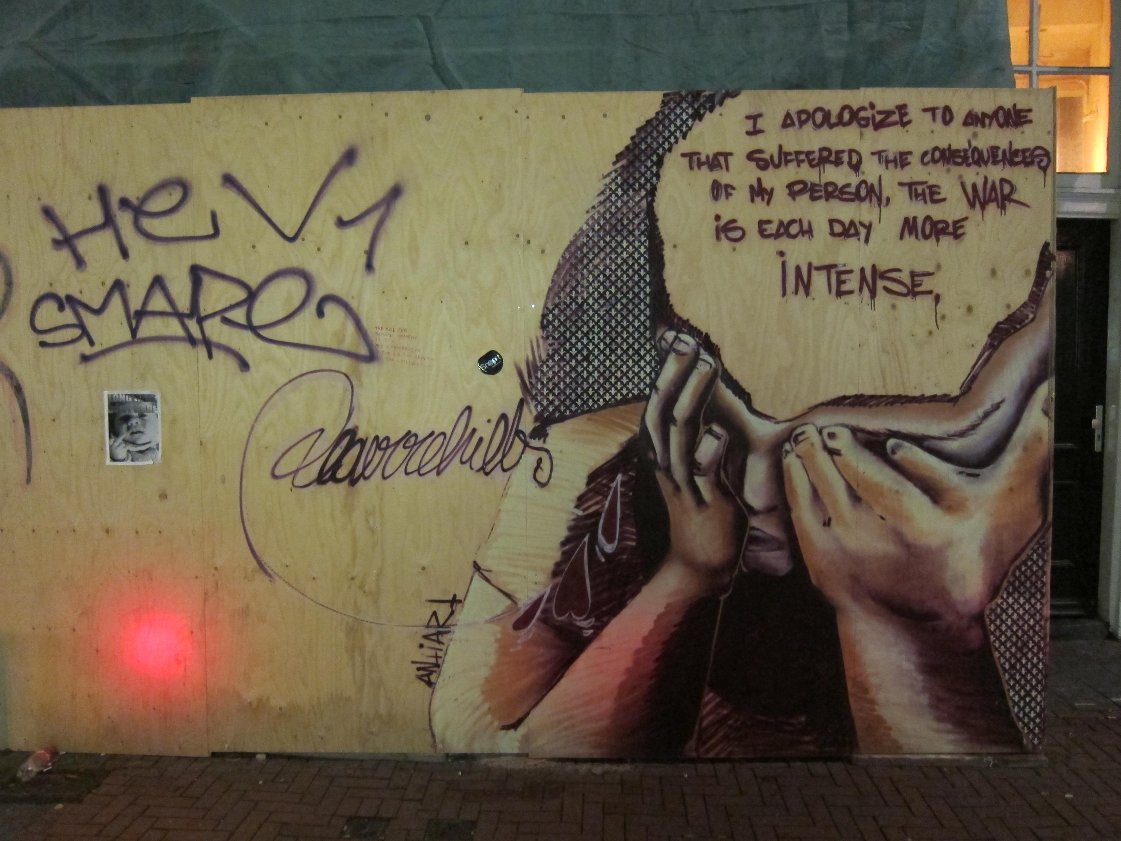 Compelling graffiti i