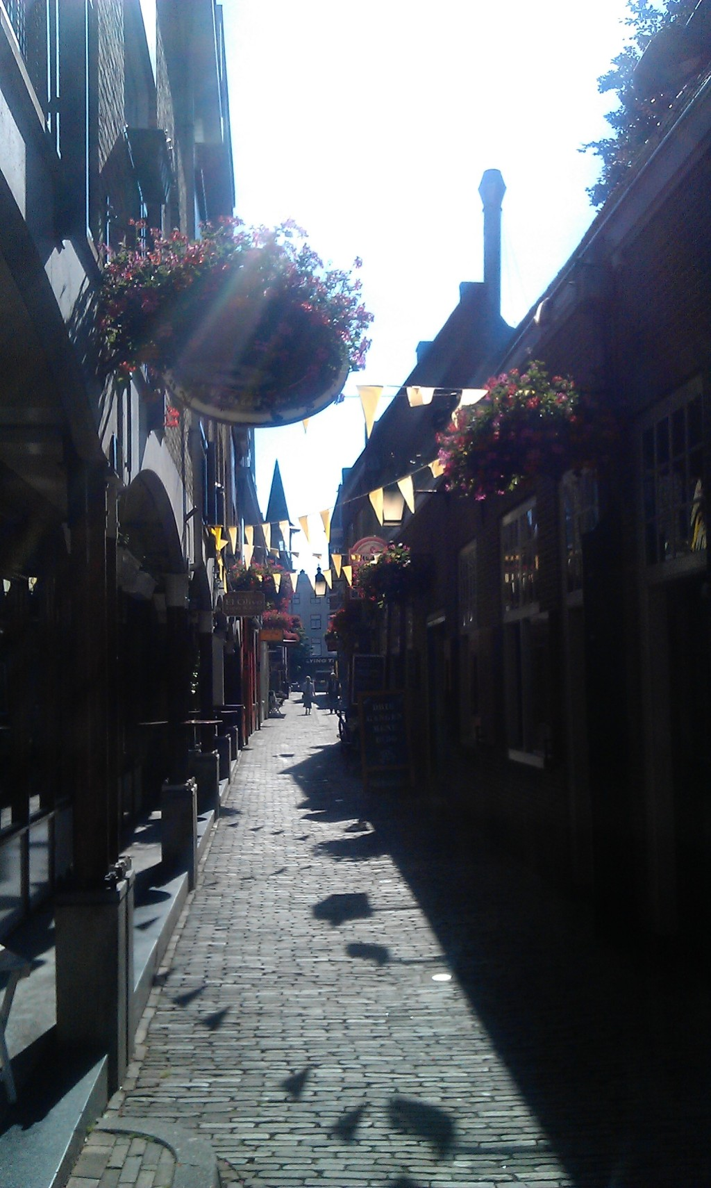 Flowers, flags and sunshine - very Dutch and heel gezellig!