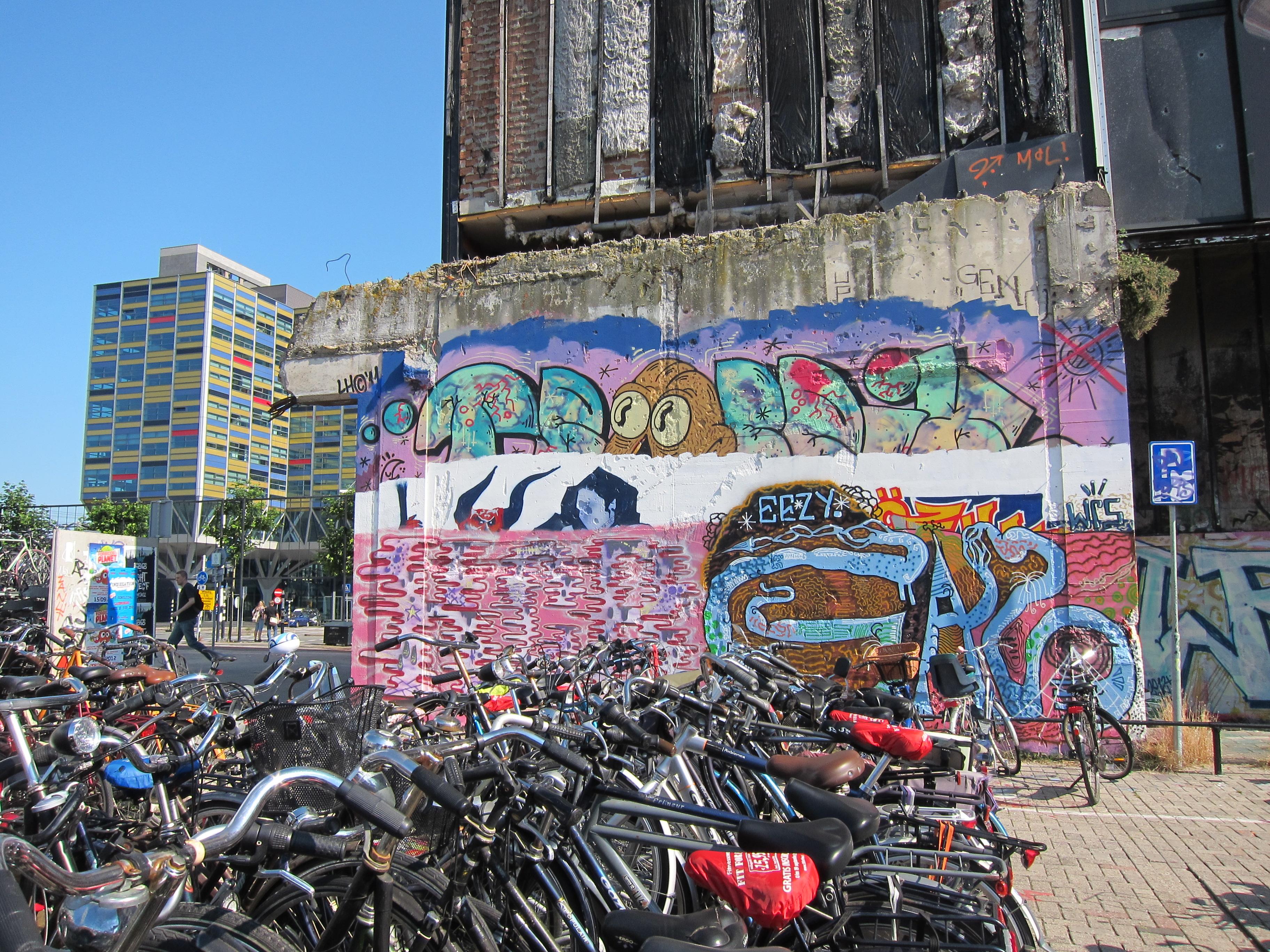 Graffiti wall amsterdam - A Little Leiden Graffiti