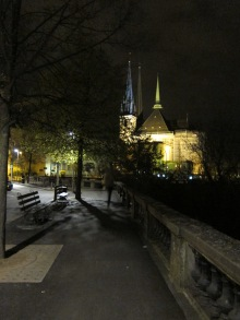 5 Luxembourg by night