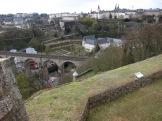 Rail Bridge, viewed from Fort Obergrünewald