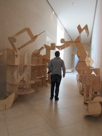 Mystery Artwork, MUDAM (Can you solve the mystery? Write to us!)