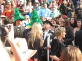 Sylvester McCoy, and others' Christmas (?!) Hats
