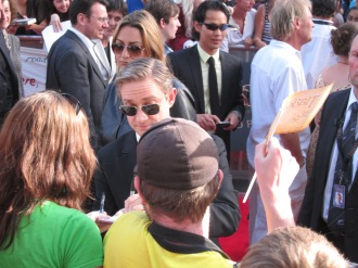 Nice Ray Bans, Martin Freeman!