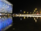 Harpa, reflected