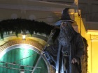 Nothing like having a giant Gandalf just around the corner from home