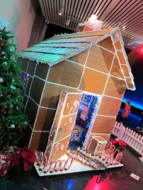Te Papa is rocking the Christmas gingerbread house.