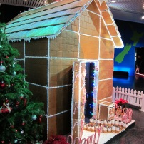Gingerbread house scrumptiousness at Te Papa