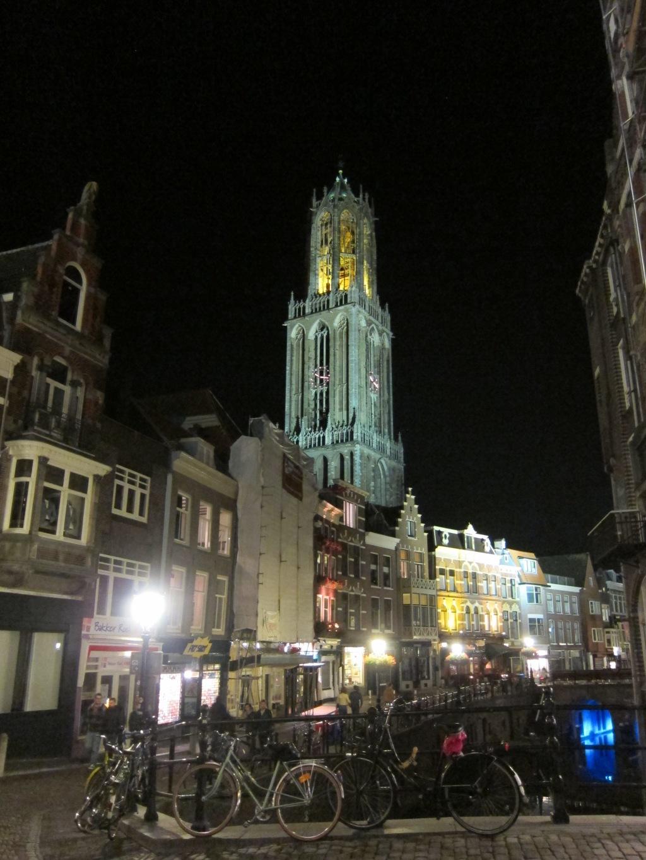 Dom Toren, Utrecht, at night