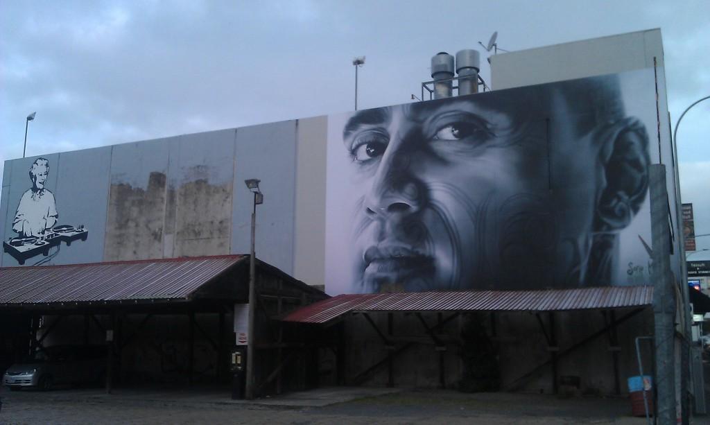 Newmarket street art